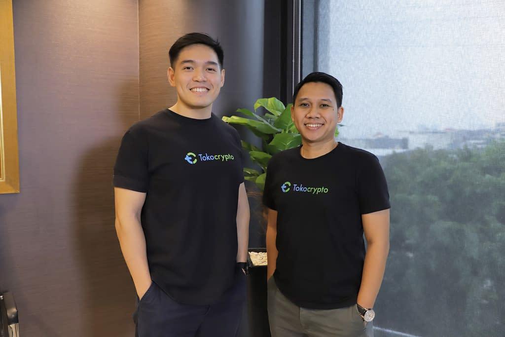 CEO Pang Xue Kai dan CFO Teguh Kurniawan Harmanda   Tokocrypto