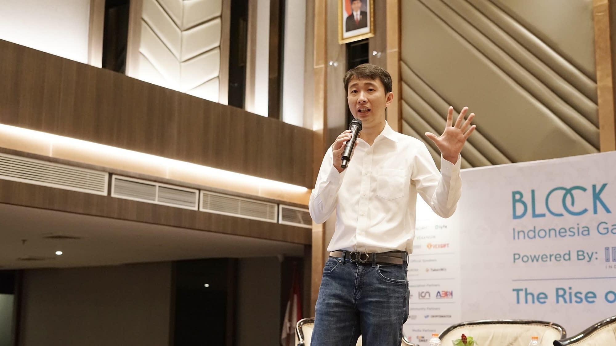 CEO Indodax Oscar Darmawan