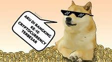 Dogecoin Menembus Rangking 10 Besar Cryptocurrency Berdasarkan Kapitalis Pasar