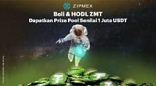 Zipmex Luncurkan Kampanye Dengan Prize Pool 1 Juta USDT