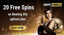 Crypto Thrills, Gratis 20 Spins Tanpa Deposit, Coba Sekarang!
