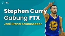 NBA All Star, Stephen Curry Gabung FTX Sebagai Brand Ambassador