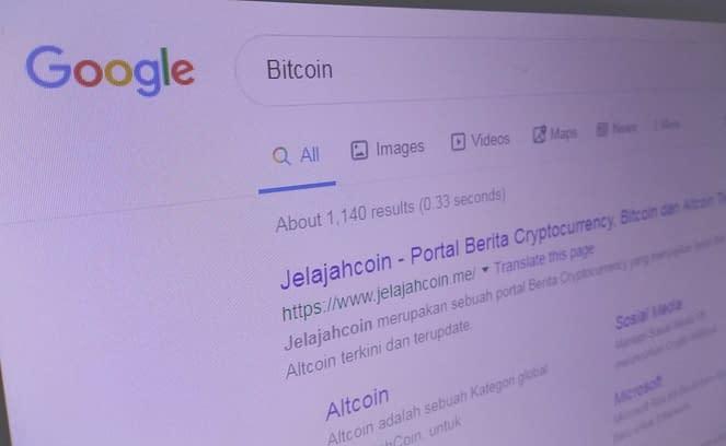 Penelusuran Google untuk 'Bitcoin' Mengejar Euforia $10K