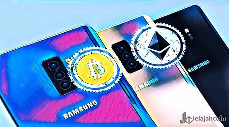 Bitcoin di Samsung Galaxy S10, dan Didukung 32 Cryptos
