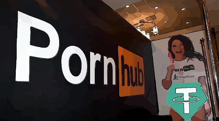 Pornhub Pilih USDT (Tether) Sebagai Sistem Pembayaran