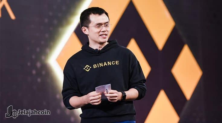 CEO Binance Mengakui Shilling Ke Binance Coin dan Bitcoin