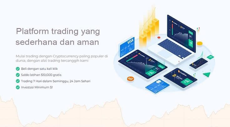 Trading Cryptocurrency Yang Aman dengan IQ Option