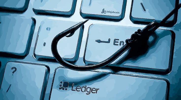 Pemilik Ledger Terkena Phishing dan Kehilangan 4 Miliar Rupiah