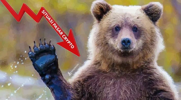 Beruang Mengamuk? Situasi Pasar Crypto Berwarna Merah