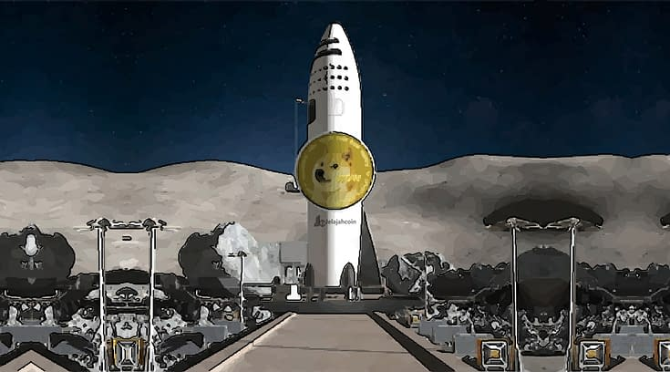 SpaceX Akan Meluncur Ke Bulan Bersama Dogecoin (DOGE)