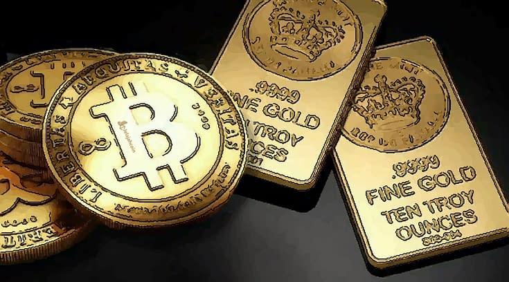 Bitcoin Merosot, Investor Lari ke Emas, Kata JPMorgan