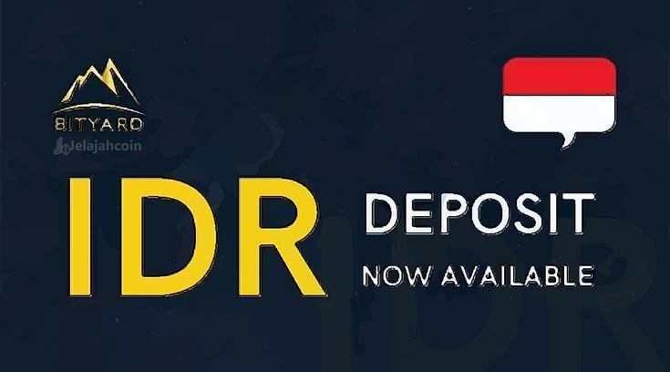 Cara Deposit Rupiah di Bityard, Gampang Banget!