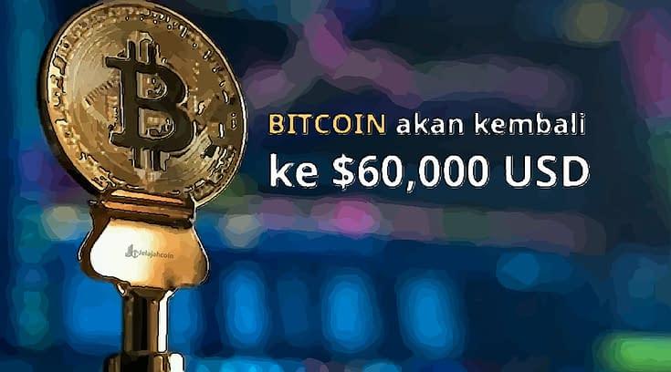 Bitcoin Akan Kembali Ke 60 Ribu USD, Kata Direktur Keuangan OKEx
