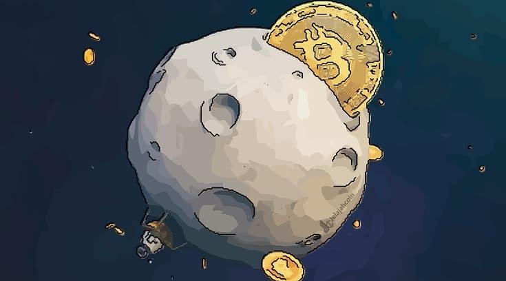 """Bitcoin """"To The Moon"""" dan Tembus 800 Juta Rupiah Lebih"""