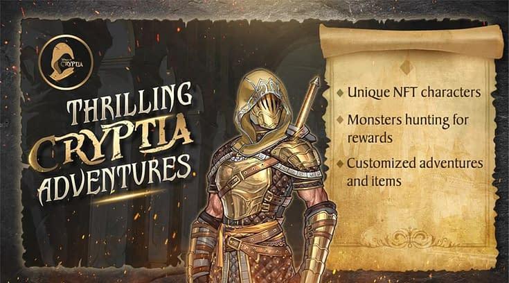Game Cryptia: Permainan RPG dan Bisa Dapat NFT